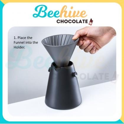 Muji Style Ceramic Coffee Dripper - Inspired by Woodpecker